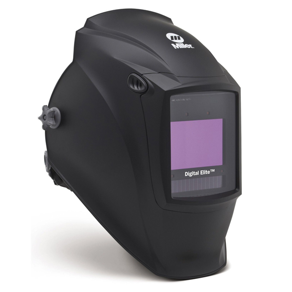 Black Miller Digital Elite Welding Helmet