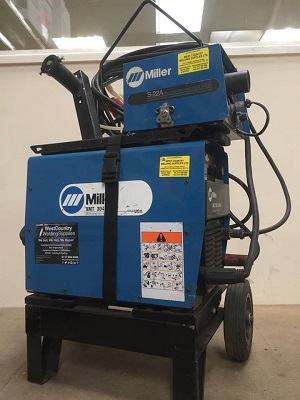 MILLER XMT 304 WITH S22-A WIRE FEEDER