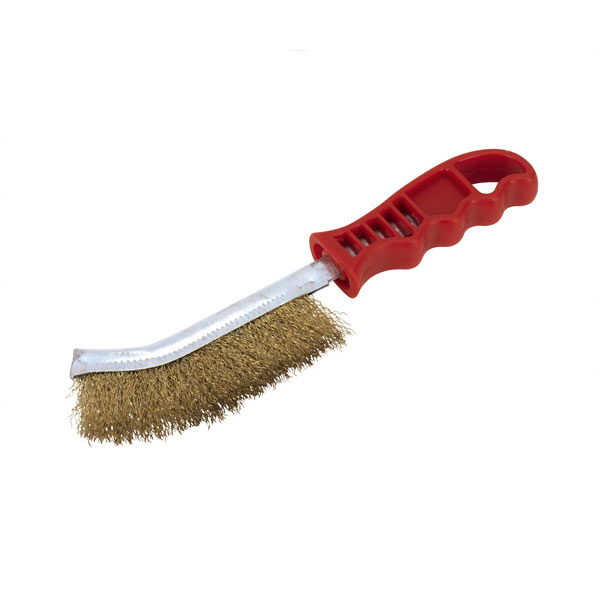 Mild Steel Spid Brush Plastic Handle