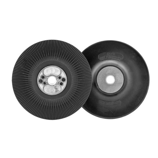 125mm Very Hard Black Coolflow Backing Pad M14