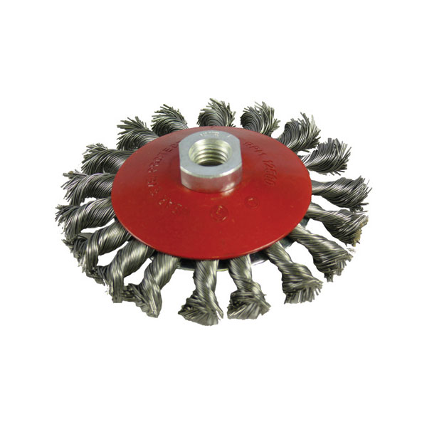 115mm x M14 Twist Knot Wire Brush