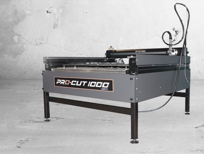 CNC CUTTING TABLE 1000 X 1000 C/W LAPTOP, SOFTWARE and THC