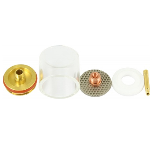 CK 3.2mm Large Diameter Gas Saving Kit For WP9, 20, 230 TIG Torches - Series 2