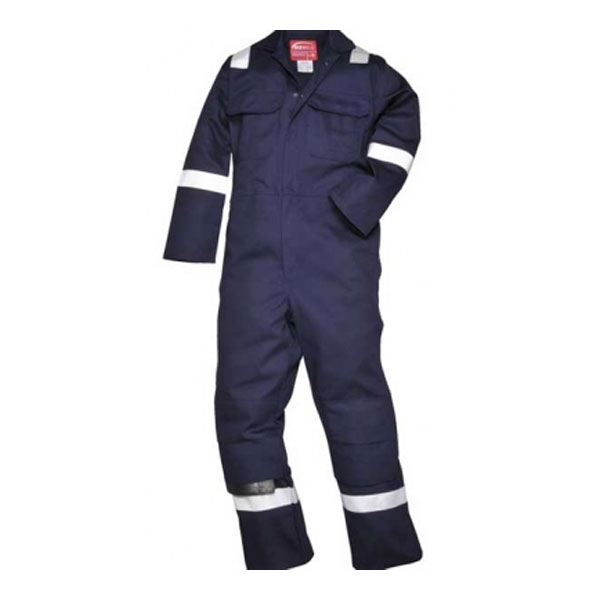Navy Overall Flame Retardant - Large