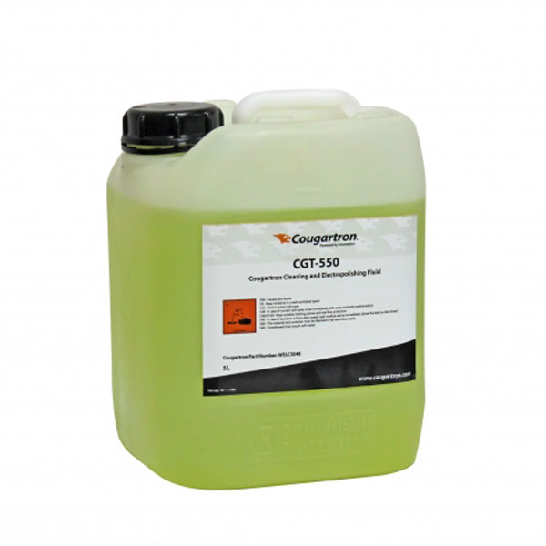 COUGARTRON CGT-550 GEL 5L WELD CLEAN and POLISH