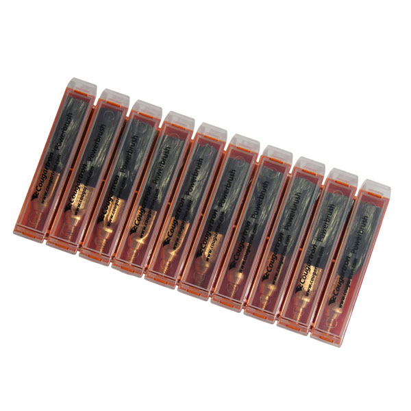 Cougartron Copper Brushes Pack of 10